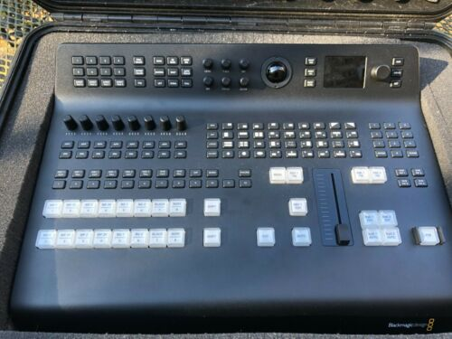 Blackmagic Design ATEM Television Studio Pro HD in SKB 2015-7 case near MINT