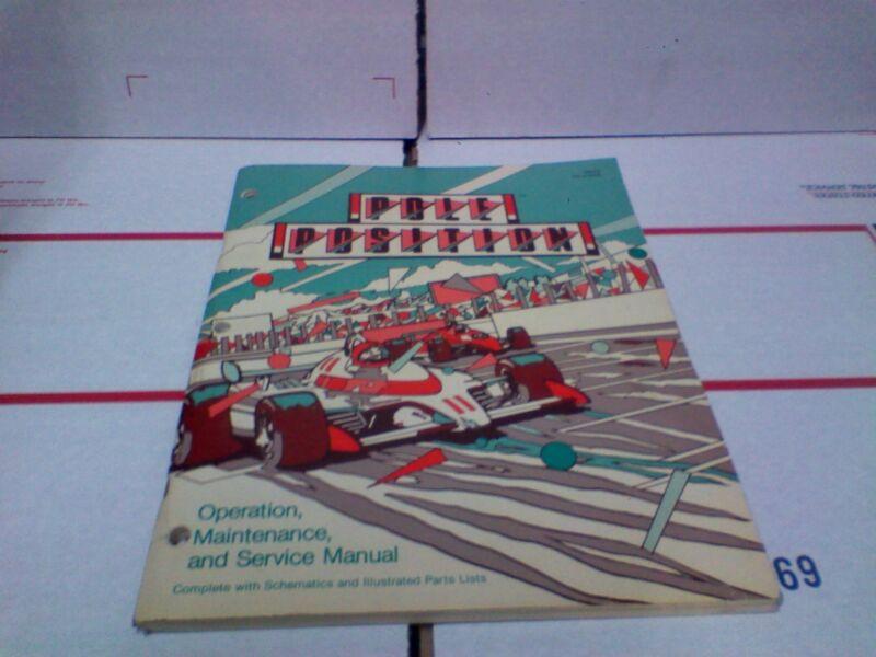 Pole Position arcade manual