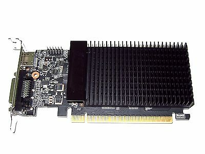 2048Mb Low Profile Half Height Length Size Sff Dt Pcie X16 Video Graphics Card