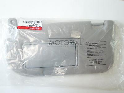 2005-2010 KIA SPORTAGE Genuine OEM Gray Sun Visor Left Driver