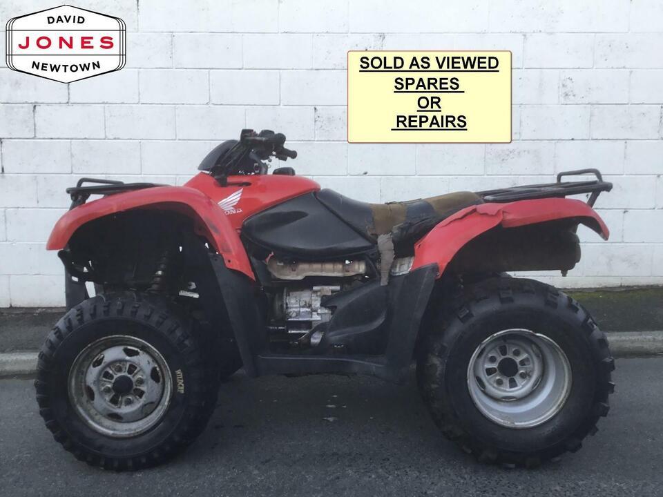 2013 HONDA TRX420FM MANUAL FOURTRAX 4x2x4 4WD QUAD BIKE ATV FOUR WHEELER