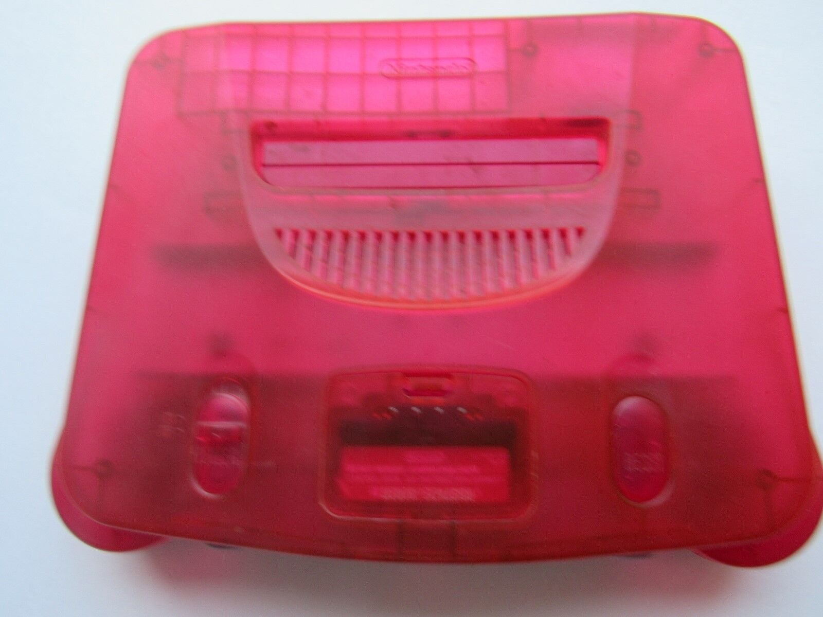 *GOOD* Nintendo 64 N64 Video Game Console Selection Funtastic Pokemon Gold PICK! Watermelon Red (Pink) *Console & Jumper Pack*