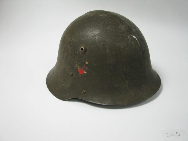 WWII WW2 BULGARIA BULGARIAN GERMAN TYPE MILITARY HELMET M36 #205 x