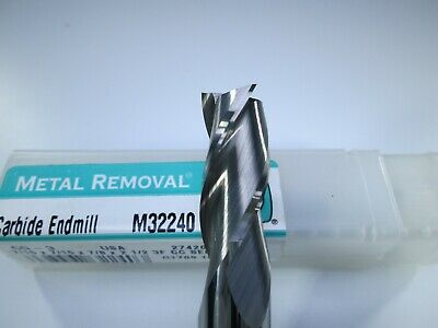 Metal Removal Carbide End Mill 716 X 78 X 2-12 Aluminum Milling Tool Bit