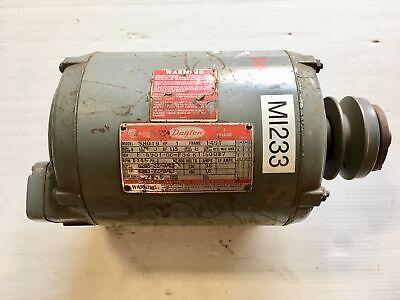 Dayton Electric Motor 3n019 1hp 3ph 1145rpm