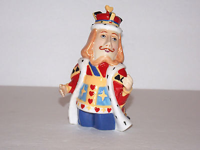 DEPT. 56 CANDLE CROWN COLLECTIONS - KING OF HEARTS CANDLE SNUFFER - King Of Hearts Crown