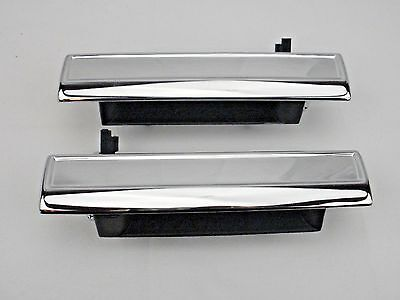 NEW 1982-1992 Chevy CAMARO Pontiac FIREBIRD Outside Chrome Door Handle PAIR L -