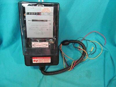 Electric Metering Corp 200 Amp 3 Phase 4 Wire Watt Hour Meter