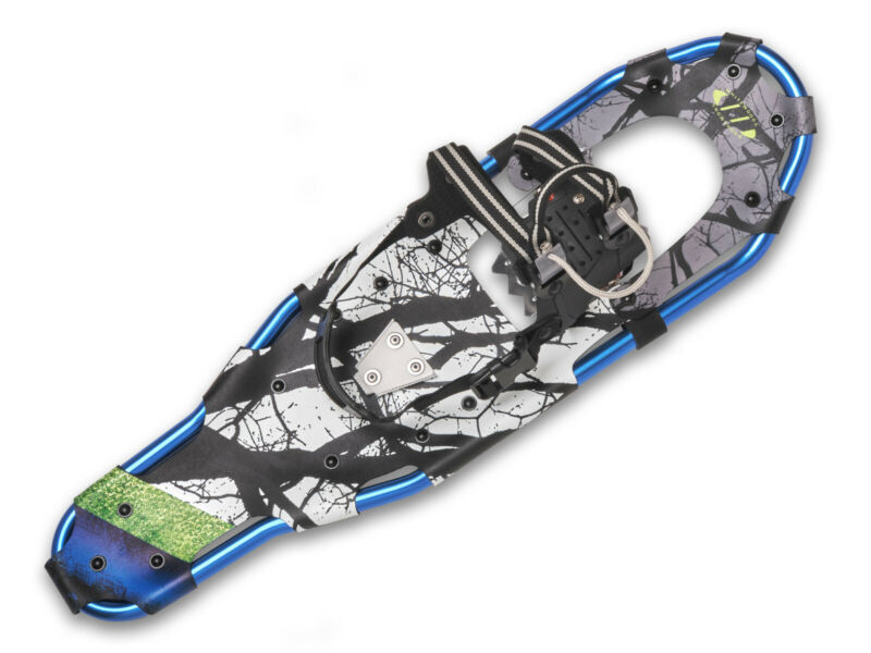 Whitewoods LT-30 ADULT Aluminum Back-Country / Touring Snowshoes, 200+ lbs