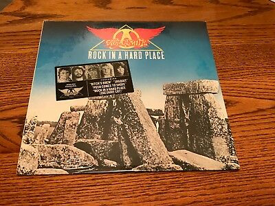 Aerosmith    Rock In A Hard Place Original First Press Still Factory Sealed