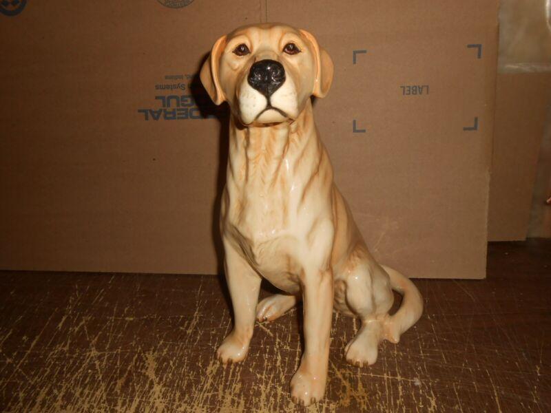 Beautiful Vintage Beswick 2314 Golden Retriever Fireside Dog Figurine