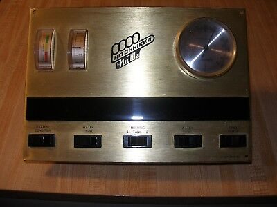 1980's Vintage RV Motorhome Monitor Display Panel  1981  GMC Hitchhiker  Nu-Wa
