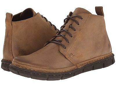 NWT Born Men's Jax Chukka Tan Leather Boots Size 8.5, 9.5, 10, 10.5, 11, 11.5 ()