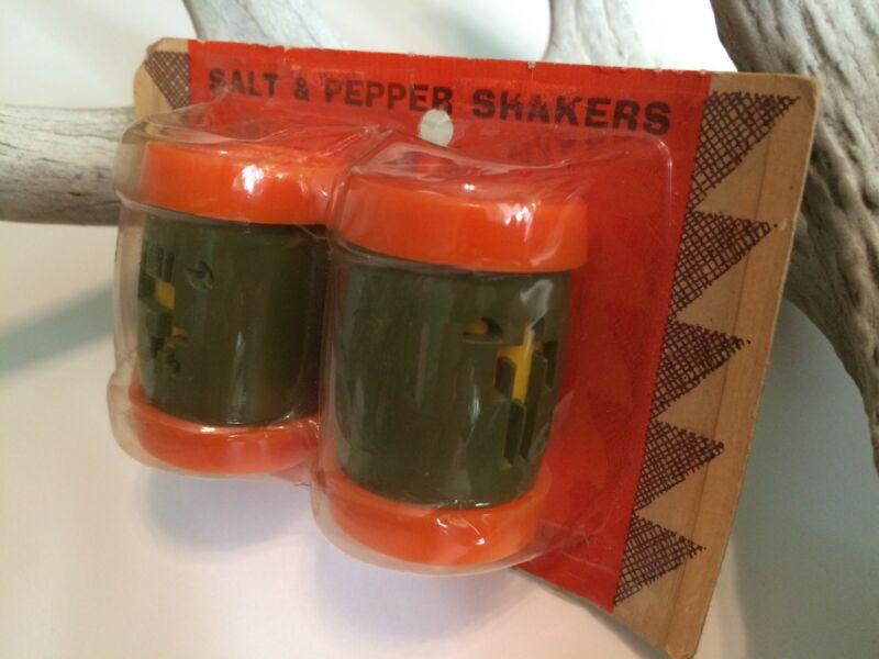 ST. LABRE INDIAN SCHOOL Salt & Pepper Shakers/Letter Holder (Lame Deer, MT)