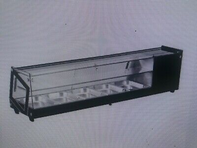 Sushi Display Case Countertop 58w 2.96 Cu.ft. 84 L Capacity