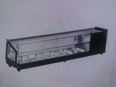 Sushi Display Case Countertop 58w 2.96 Cu.ft. 84 L Capacity