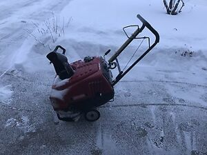 "Craftsman 22"" Single Stage Snowthrower"