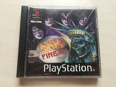 Kiss Pinball Game Sony PS1 Playstation 1 (2000) UK PAL USED