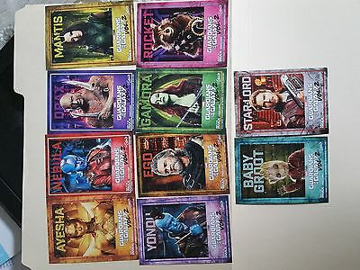 Guardians of the Galaxy Vol 2 Trading Cards Imax Amc Complete Set of 10 cards