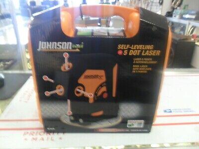 Johnson 5-dot Self-leveling Laser 40-6678 New