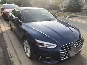 Audi A5 2018 coupe 2.0T lease takeover