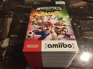 Bunch of Brand New UNOPENED packs of Mario Amiibo cards!!!