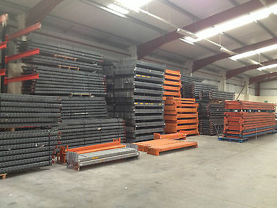 Used second hand Racking and Shelving. Small or Large we have it all.