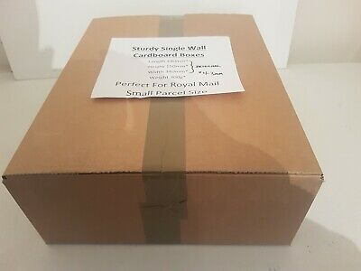 ROYAL MAIL SMALL PARCEL SIZED  10 CARDBOARD POSTAL  BOXES 440 340 150 mm carton