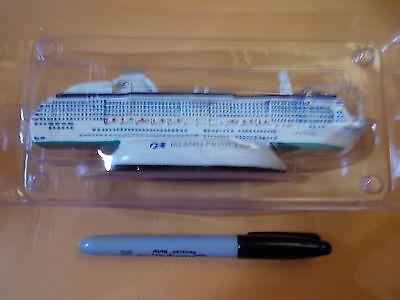 """RARE ISLAND PRINCESS - PRINCESS CRUISE LINE CERAMIC SHIP MODEL SCULPTURE 6"""""""