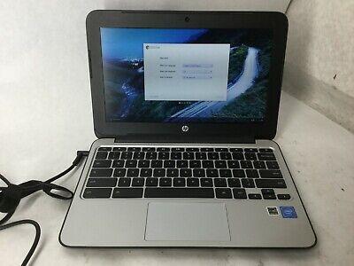 HP ChromeBook 11 G4 Intel Celeron CPU 2gb RAM 16gb SSD 11.6