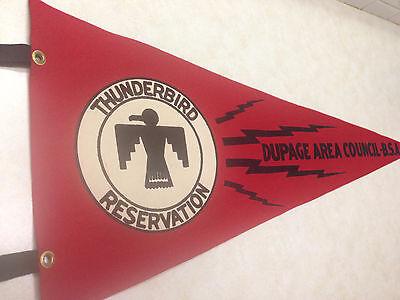 Thunderbird Scout Reservation Felt Pennant