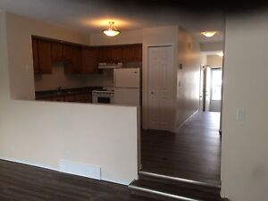 2 story duplex, attached garage, 3 bedrooms