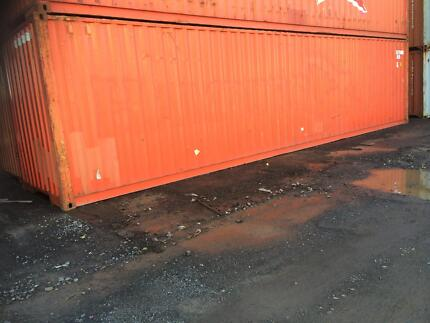 40ft Second Hand High Cube Shipping Containers Brisbane City Brisbane North West Preview