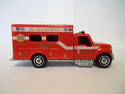 Matchbox International Terrastar Ambulance El Segundo 2019 Loose/New
