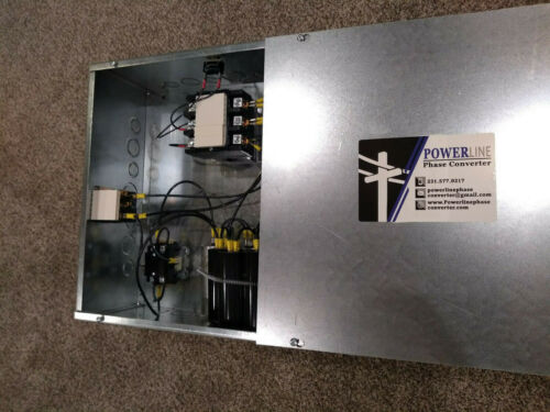 20HP Rotary Phase Converter Panel