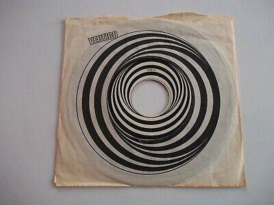 "Black Sabbath 'Paranoid'  7"" Vinyl Vertigo label original sleeve 1970"