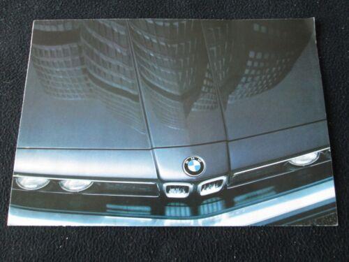 1983 BMW 528e 320i 633CSi 733i Sales Brochure M1 Warhol Art Car Pro-Car Catalog