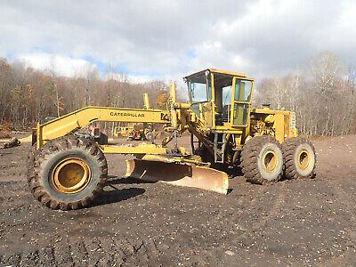 Caterpillar 16g Motor Grader Super Clean Cat Erops 3406 Diesel