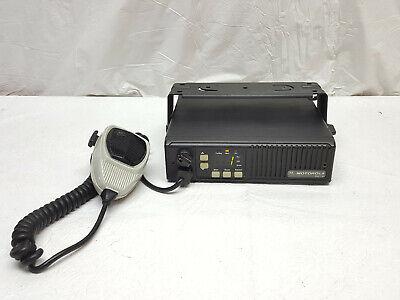 Motorola Maxtrac 146-174 Vhf Radio With Bracket Mic