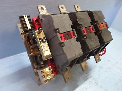 General Electric CR185-H004BAJ Sz 5 AC Contactor 300 Amp 460 Control Volts 300A