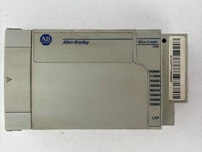 Allen Bradley 1764-lrp Micrologix 1500 Processor Ser C Fw 14 5vdc