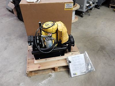 Enerpac Zw3 Series Electric Hydraulic Pump Zw3010hb-fhlt21 5000psi Workholding