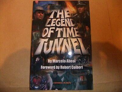 THE LEGEND OF TIME TUNNEL BOOK FANTASY WORLDS OF IRWIN ALLEN JAMES DARREN