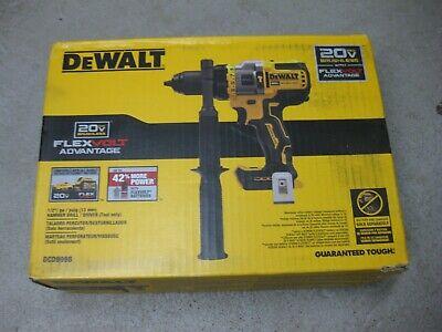 New Dewalt Dcd999b 20v Max Bl Li-ion 12 In. Hammer Drill Driver Tool Only