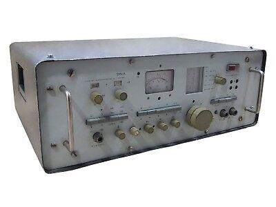 30mhz-1000mhz -5120db Smv-8 Selective Level Meter Micro Voltmeter Analog Hp Esi