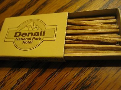 Vintage Mckinley Chanel Resort Denali National Park Hotel Matchbook