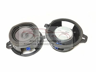 Cadillac STS Buick LaCrosse Bose Speaker New 25798962 OEM 25725738 Pair 2pcs