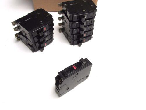 Square D 20A, 1P Circuit Breakers Cat# QOB120 ( Box of 10) Blk Face .. UA-601