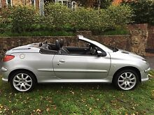 2004 Peugeot 206 Convertible South Yarra Stonnington Area Preview
