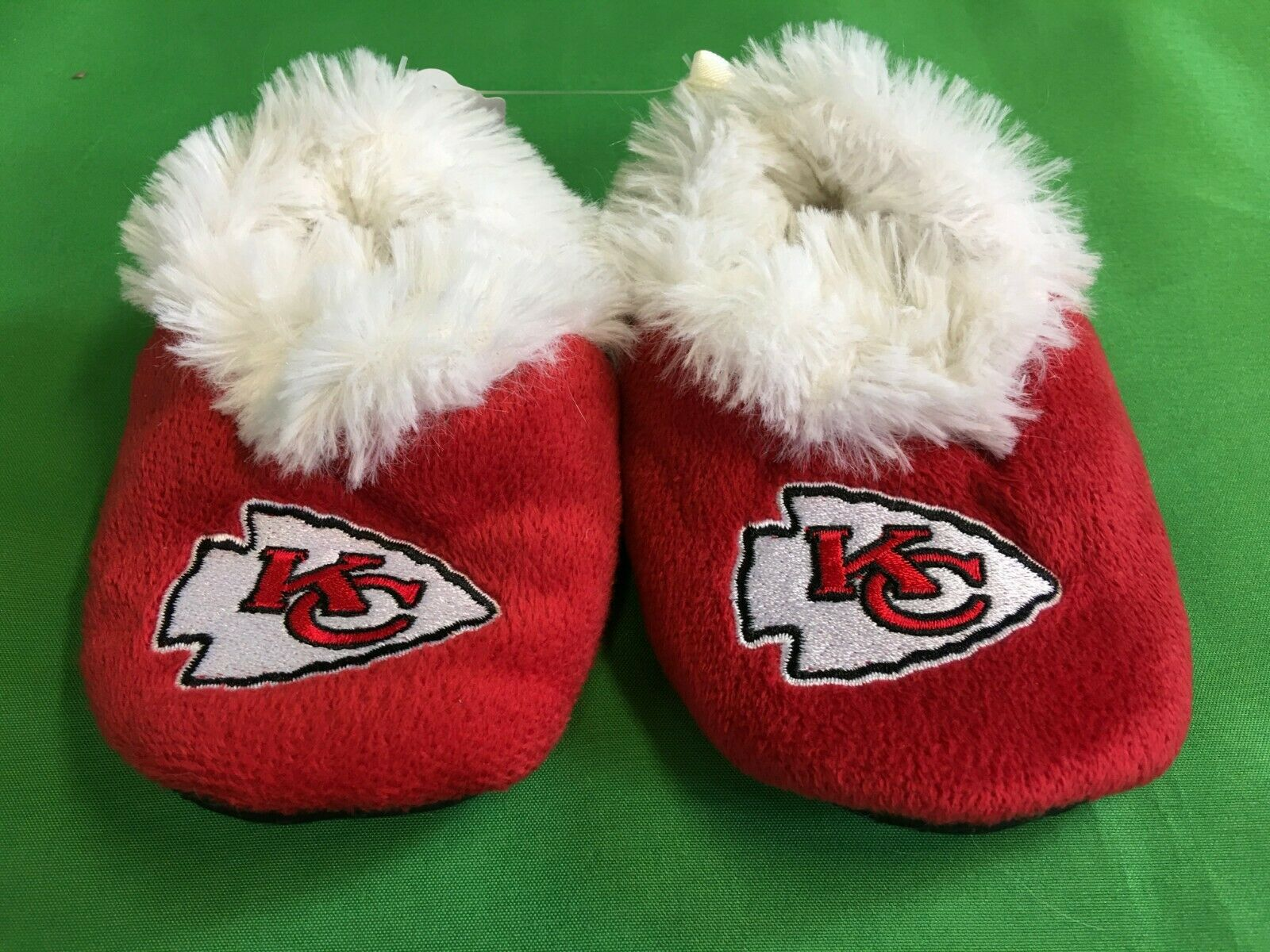 M147/60 NFL Kansas City Chiefs Baby Slippers/Booties XL (9-12 months)